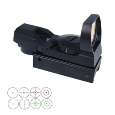 Jual Red And Green Reflex Sight With 4 Reticles Intl Satu Set