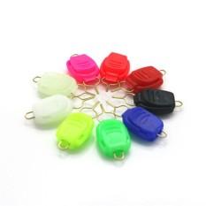 Redcolourful 9 Pcs Baitcasting Kumparan Pancing Tali Penahan Klip Penjepit Kawat Gesper Sumbat Spesifikasi: 9 Pcs-Internasional