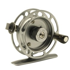 Redcolourful Ice Fishing Reels Right Handed Aluminum Alloy Smooth Rock Fish Line Wheel Fly Fishing Reel