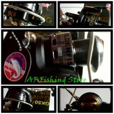 Reel Golden Fish Kingkong (GK 50) 10 Bearings Handling Metal Premium