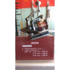 Beli Reel Kenzi Benhur 4000 10 Bb Ratio 5 2 Aluminium Spool Online Terpercaya