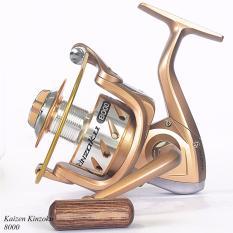 Reel Mancing Spinning Kaizen Kinzoku ukuran 8000