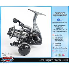 Reel Mancing Spinning Maguro Storm 3000
