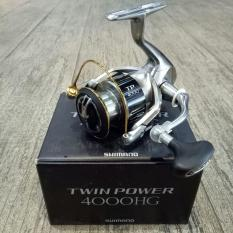 Reel Pancing  Murah Shimano Twin Power 15 4000 HG 9 1 bb Terlariss