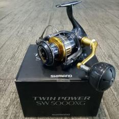 Reel Pancing  Murah Shimano Twin Power 15 SW 5000 XG 11 1 bb Terlariss