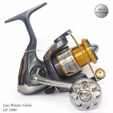 Reel Pancing Spinning Line Winder Globe 9+1 BB ukuran 1000