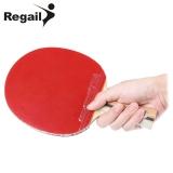 Jual Beli Regail D 007 X Tenis Meja Ping Pong Raket Jabat Tangan Pegangan Bat Merah Baru Tiongkok