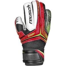 Reusch Soccer Receptor RG Finger Support Junior Goalkeeper Glove, 4, Pair - intl