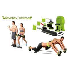 Spesifikasi Revoflex Xtrem Alat Fitnes Gym Senam Latihan Olah Raga Otot Portabel Revoflex Xtreme