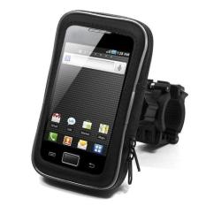 Rimas Universal Bike Mount with Waterproof Case for Smartphone 4.5 Inch - hitam