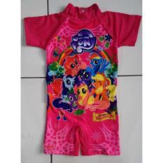 Rnkd30 - Baju Renang Anak Diving Little Pony Pink - 76Ca5c