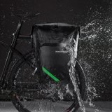 Spek Rockbros 27L Bersepeda Sepeda Pannier Sepeda Waterproof Rear Seat Bag Rack Hitam International Rockbros