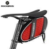 Toko Rockbros Sepeda Rainproof Saddle Bag Belakang Reflektif Seatpost Sepeda Tas Empat Warna Merah Intl Online Tiongkok