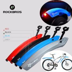 Harga Rockbros Sepeda Fender Set Mtb Bersepeda Depan Dan Belakang Dengan Lampu Led Slebor Empat Warna Hitam Intl Yang Murah