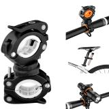 Beli Rockbros Sepeda Light Bracket Clip Senter Stand Rotatable Lampu Depan Holder Hitam Putih Intl Murah Tiongkok