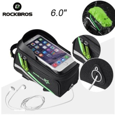 Toko Rockbros Sepeda Top Tube Bag Waterproof Tas Telepon Layar Sentuh Dengan Rain Cover 6 Layar Sentuh Intl Dekat Sini