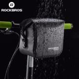 Spesifikasi Rockbros Sepeda Handlebar Bag 100 Waterproof Tas Depan Sepeda Bersepeda Panniers Intl Online