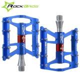 Spesifikasi Rockbros Sepeda Pedal Bersepeda Sealed 4 Bearing Pedal Flat Platform Satu Pair Tujuh Warna Biru Intl Dan Harganya