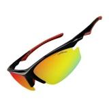 Jual Beli Rockbros Bersepeda Sepeda Satu Polarized Lens 4 Lensa Eyewears Goggles Kacamata Hitam Di Tiongkok