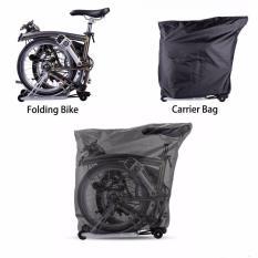 Jual Beli Online Rockbros Folding Bike Loading Paket Carring Bag Untuk Brompton Folding Bike Intl