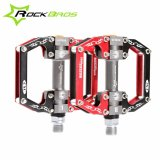 Ulasan Lengkap Tentang Rockbros Hot Sale Mtb Ultralight Bike Bicycle Pedals Mountain Road Bike Pedal Cycling Aluminum Alloy 3 Styles Hollow Pedals A Red Intl