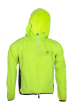 Spesifikasi Rockbros Long Sleeve Cycling Jersey With Hood Wind Coat Jacket Green Terbaru
