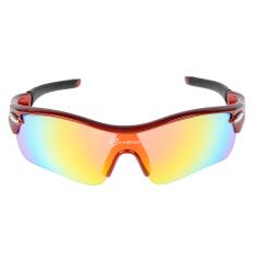 Promo Rockbros Terpolarisasi Kacamata Bersepeda Kacamata Hitam Sports Merah Hitam Di Tiongkok