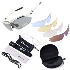 Jual Rockbros Pro Terpolarisasi Bersepeda Olahraga Kacamata Hitam Dengan Uv 5 Pasang Lensa Putih Cs011 Rockbros Asli