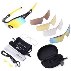 Berapa Harga Rockbros Pro Terpolarisasi Bersepeda Olahraga Kacamata Hitam With 5 Buah Lensa Cs007 Rockbros Di Hong Kong Sar Tiongkok