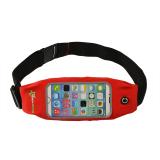 Promo Rockbros Olahraga Casing Menjalankan Pocket Belt Case Phone Holder Bersepeda Berjalan Bag 6 Merah Akhir Tahun