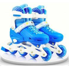 Ulasan Mengenai Roller Skate Dengan Set Pengaman Size S