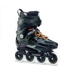Sepatu Roda Twister 80 Twincam Ilq 7 Plus Bantalan Sepatu Roda, Hitam/Urban Orange Mens 10-Intl