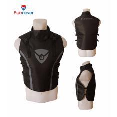 Situs Review Rompi Premium Vest Funcover Protector Pelindung Dada Leher Motor V3