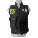 Rompi Swat Protector Swat Vest Swat Turn Back Crime White Sands Diskon 30