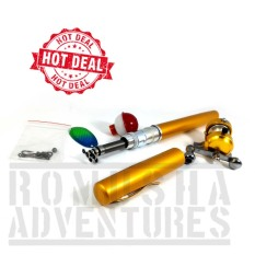 Romusha Fishing Rod Pen / Pena Tongkat Pancing Ikan