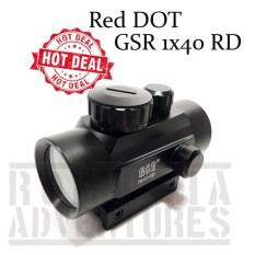 Spesifikasi Romusha Red Green Dot Scope Gsr 1X40 Rd Illuminated Reflex Recticle Online