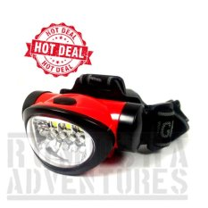 Romusha Senter Kepala Headlamp Mini 4 Led + 3 Smd 603 Outdoor Survival