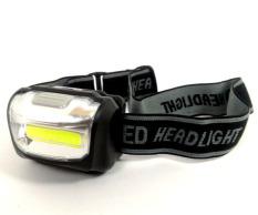 Romusha Senter Kepala Mini Led Cob Plasma 3W 110 lumens / Super Brigh Cob Headlight