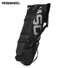 Spesifikasi Roswheel 10L Mtb Bersepeda Sepeda Water Resistant Bike Pannier Bag Sadel Jok Belakang Pembawa Internasional Bagus