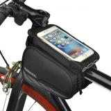Ulasan Lengkap Roswheel 12813 A2 Mountain Road Bike Bag Touchscreen Sepeda Tas Bersepeda Top Frame Tabung Pelindung Tas Aksesoris Sepeda Hitam Intl