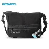Beli Roswheel 141415 6L Bicycle Rear Rack Trunk Bag Cycling Pannier Handbag Blue And Black Intl Roswheel Asli