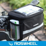 Jual Roswheel 3 5L Bike Handlebar Bag Bicycle Tabung Depan Pocket 600D Peta Pack Riding Cycling Supplies Hitam Intl Tiongkok