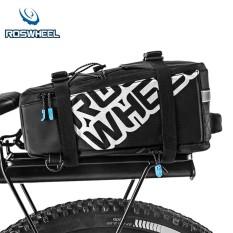 Beli Roswheel 5L Nylon Waterproof Sepeda Gunung Sepeda Sepeda Tas Bersepeda Rear Rack Tail Seat Pannier Intl Yang Bagus