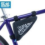 Jual Roswheel High Quality Mountain Road Bike Bag Waterproof Mtb Cycling Bicycle Bag Reflective Triangle Tube Bag Accessories Black Branded Murah