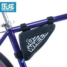 Jual Roswheel High Quality Mountain Road Bike Bag Waterproof Mtb Cycling Bicycle Bag Reflective Triangle Tube Bag Accessories Black Ori
