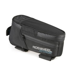 ROSWHEEL Bicycle Top Tube Bag Tahan Air Bike Bicycle Front Frame Pannier Bag Tas Bersepeda-Intl