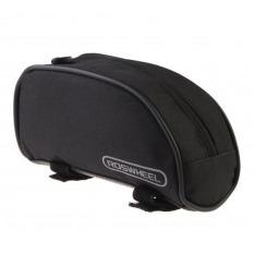 Harga Roswheel Tas Sepeda Depan Tabung Atas Bingkai Hitam Dan Spesifikasinya
