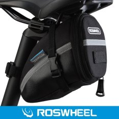 Situs Review Roswheel Tas Sadel Sepeda Ekor Menghubungi Ke Velcro Hitam International