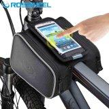 Beli Roswheel Tas Sepeda Bike Waterproof Bag With Smartphone Bag Black Pake Kartu Kredit