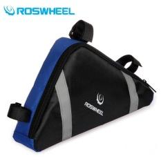 Jual Roswheel Tas Sepeda Segitiga Blue Original